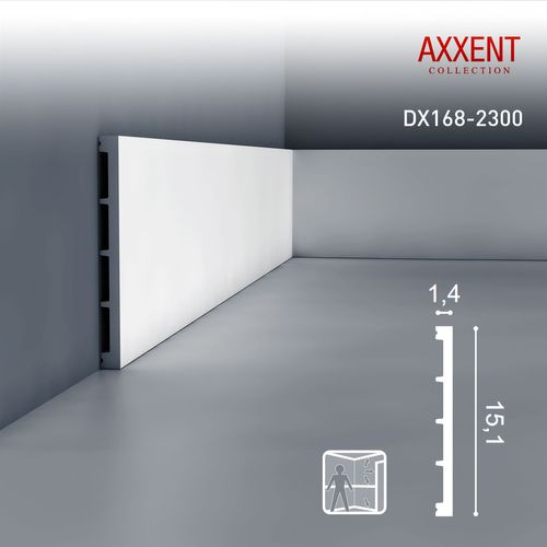 Orac Decor DX168-2300 AXXENT 1 Karton SET mit 9 Türumrandungen Wandleisten | 20,7 m – Bild 2