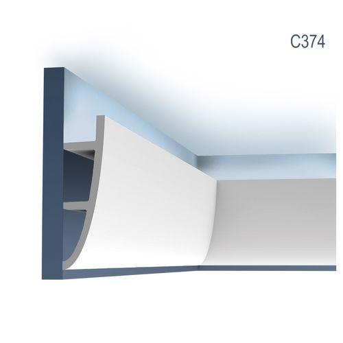 Zierleiste Orac Decor C374 Antonio L Ulf Moritz LUXXUS Eckleiste indirekte Beleuchtung Profilleiste Stuckleiste 2 Meter – Bild 1