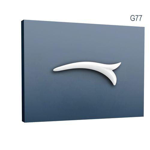 Stuckgesims von Orac Decor G77 Lily Ulf Moritz LUXXUS Zierelement Stuckprofil klassisches Wand Dekor Element weiß – Bild 1