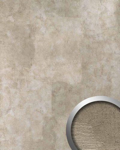 Revêtement mural de luxe auto-adhésif WallFace 18581 ART Aspect métal Panneau mural Style vintage gris argent | 2,60 m2  – Bild 1