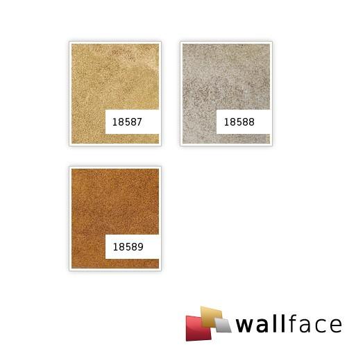 Wandverkleidung Design Platte WallFace 18588 DECO Iron Age selbstklebend Vintage Metall-Optik platin beige | 2,60 qm – Bild 4