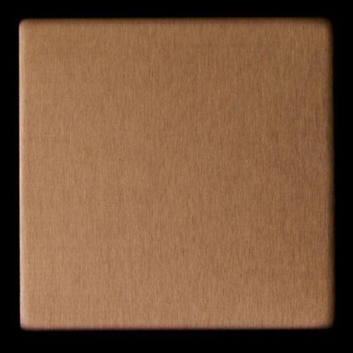 Mosaïque métal massif Carrelage Titane brossé Amber cuivre Grosseur 1,6mm ALLOY Attica-Ti-AB 0,85 m2 – Bild 5