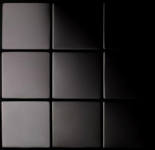 Mosaik Fliese massiv Metall Titan hochglänzend in dunkelgrau 1,6mm stark ALLOY Attica-Ti-SM 0,85 m2 – Bild 4