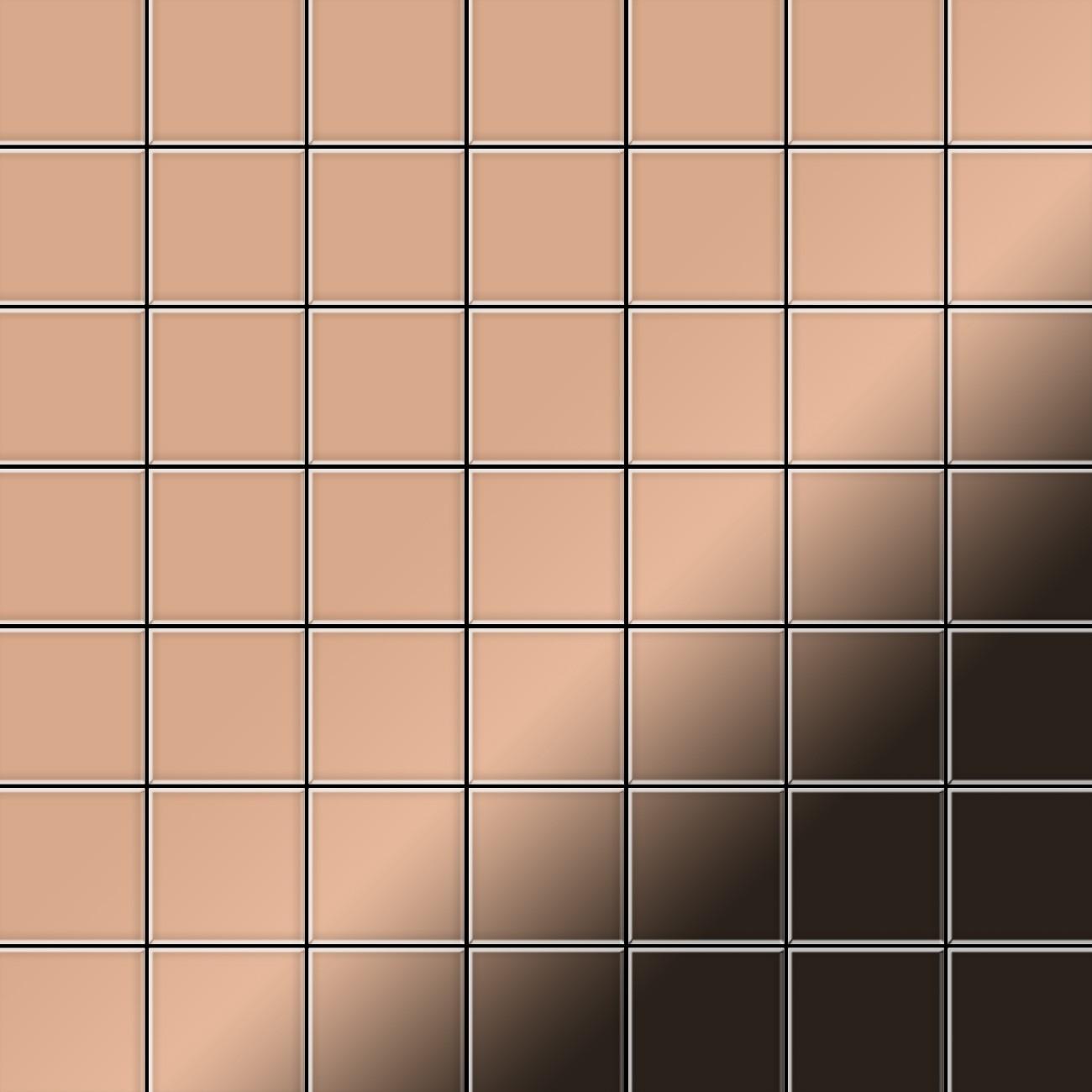 Metalowa Mozaika Z Miedzi Alloy Attica Cm Walcowana Miedziana 085 M2