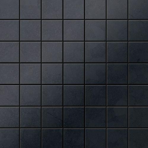Mosaik Fliese massiv Metall Rohstahl gewalzt in grau 1,6mm stark ALLOY Attica-RS 0,85 m2 – Bild 1