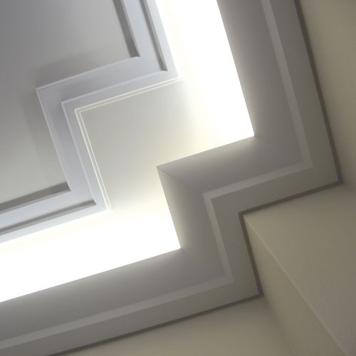 Cornice moulding decoration indirect lighting ceiling coving 2 m Orac Decor C351 LUXXUS  – Bild 3