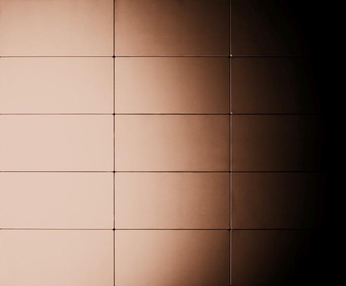 mosaik fliese massiv metall kupfer gewalzt in kupfer 1 6mm stark alloy bauhaus cm 1 05 m2. Black Bedroom Furniture Sets. Home Design Ideas