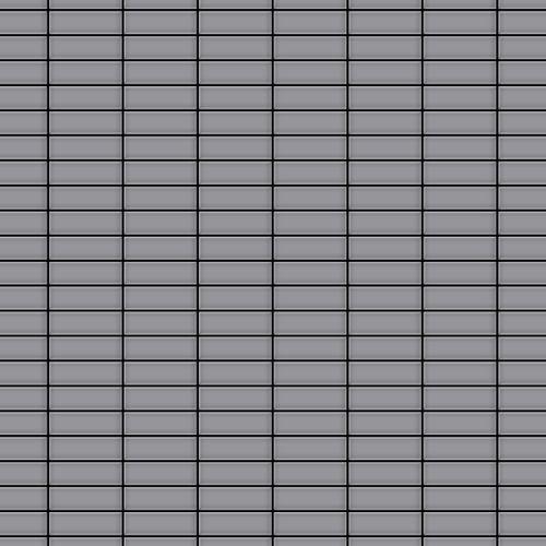 Mozaïektegels massief metaal roestvrij staal matglanzend grijs 1,6 mm dik ALLOY Cabin-S-S-MA – Bild 1