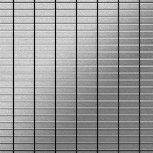 Mosaïque métal massif Carrelage Acier inoxydable Marine brossé gris Grosseur 1,6mm ALLOY Cabin-S-S-MB 1,01 m2 – Bild 1