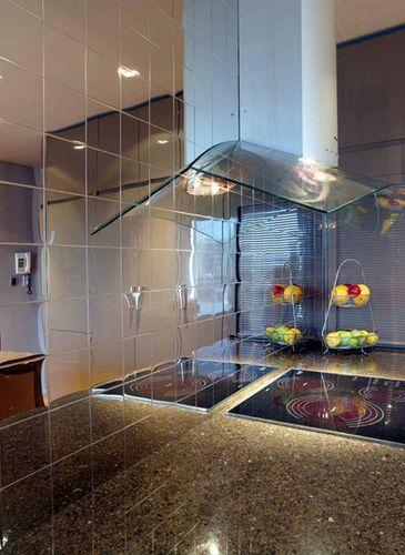 Mosaik Fliese massiv Metall Edelstahl hochglänzend in grau 1,6mm stark ALLOY Century-S-S-M 0,5 m2 – Bild 4