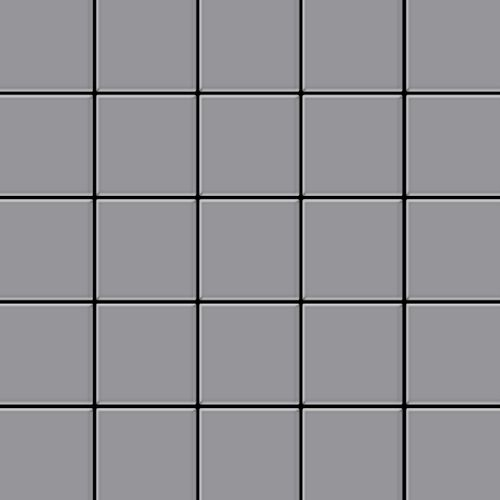 Metal Mosaic Tile Stainless Steel matt grey 1,6mm Century-S-S-MA
