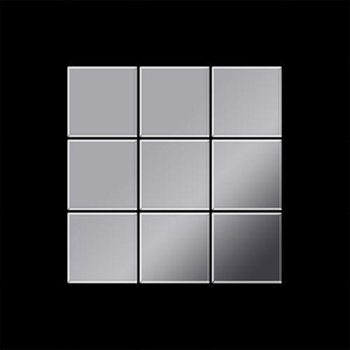 Mosaik Fliese massiv Metall Edelstahl marine hochglänzend in grau 1,6mm stark ALLOY Century-S-S-MM 0,5 m2 – Bild 3
