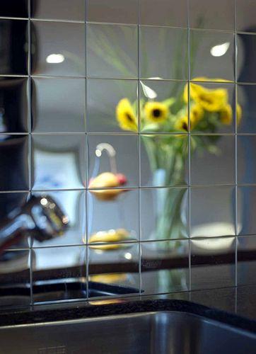 Mosaik Fliese massiv Metall Edelstahl marine hochglänzend in grau 1,6mm stark ALLOY Century-S-S-MM 0,5 m2 – Bild 5