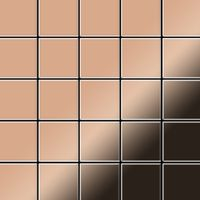 Metal Mosaic Tile Copper mill copper 1,6mm Century-CM