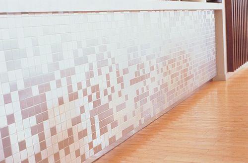 Mosaik Fliese massiv Metall Edelstahl marine gebürstet in grau 1,6mm stark ALLOY Cinquanta-S-S-MB 0,94 m2 – Bild 4