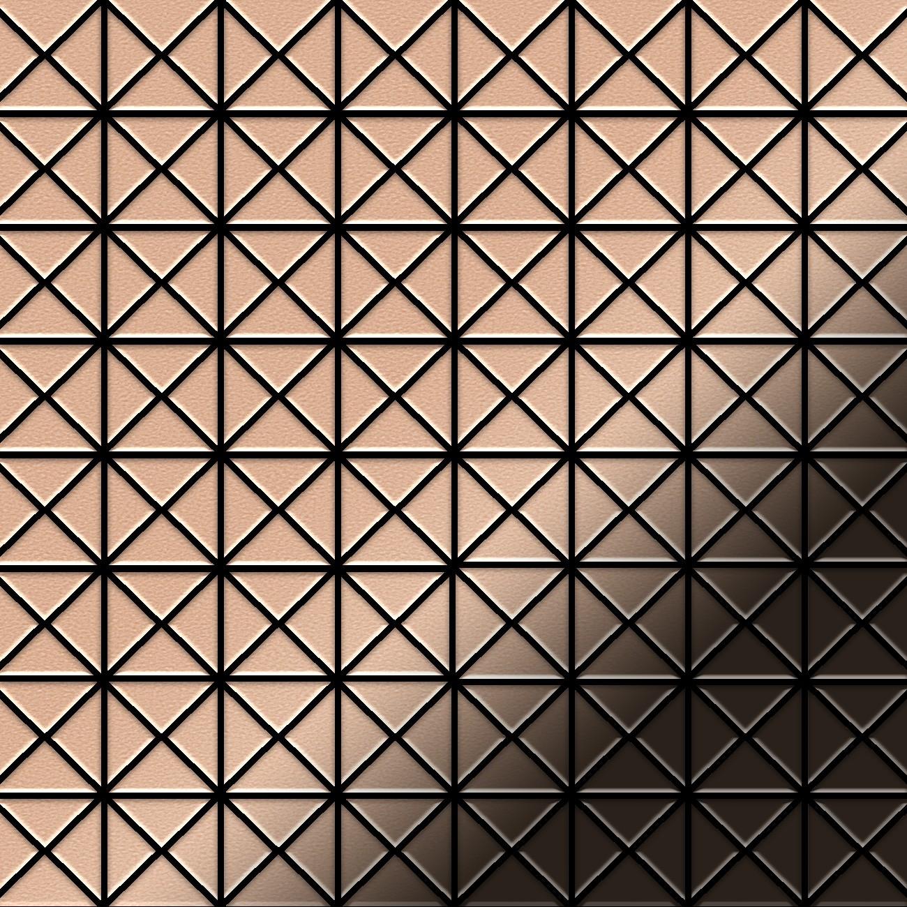 mosaik fliese massiv metall kupfer gewalzt kupfer 1 6mm stark deco cm ebay. Black Bedroom Furniture Sets. Home Design Ideas