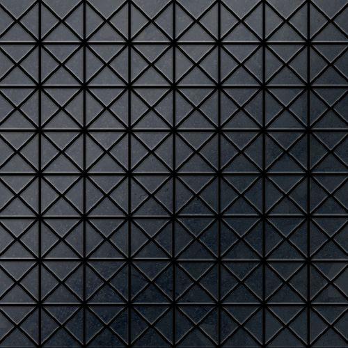 Mosaik Fliese massiv Metall Rohstahl gewalzt in grau 1,6mm stark ALLOY Deco-RS 0,92 m2 – Bild 1