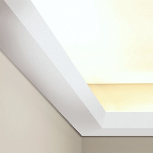 Decor C357 LUXXUS ceiling coving indirect lighting cornice moulding decoration 2 m Orac  – Bild 4