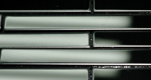 Mosaik Fliese massiv Metall Edelstahl marine hochglänzend in grau 1,6mm stark ALLOY Deedee-S-S-MM 0,63 m2 – Bild 4