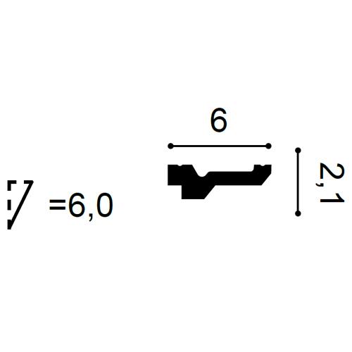 Deckenleiste C360 2m – Bild 2