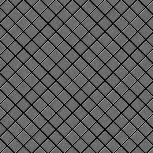 Azulejo mosaico de metal sólido Titanio Smoke cepillado gris oscuro 1,6 mm de grosor ALLOY Diamond-Ti-SB 0,91 m2 – Imagen 1