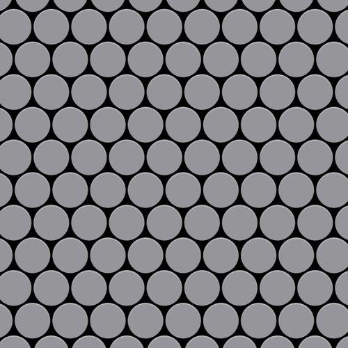 Mosaik Fliese massiv Metall Edelstahl matt in grau 1,6mm stark ALLOY Dollar-S-S-MA 0,88 m2 – Bild 1