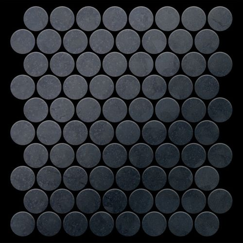 Mosaik Fliese massiv Metall Rohstahl gewalzt in grau 1,6mm stark ALLOY Dollar-RS 0,88 m2 – Bild 3