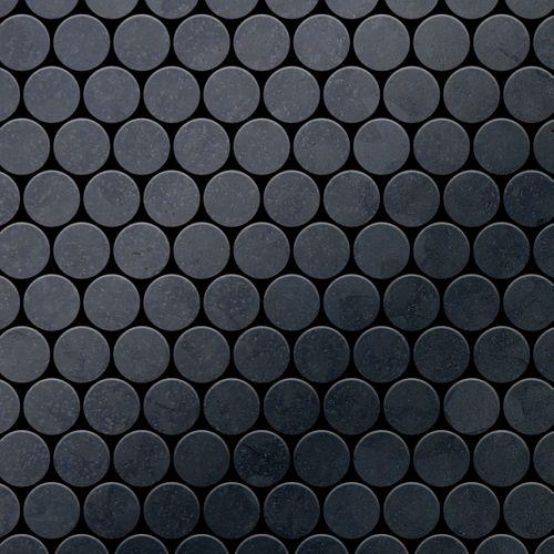 Azulejo mosaico de metal sólido Acero bruto laminado gris oscuro 1,6 mm de grosor ALLOY Dollar-RS 0,88 m2 – Imagen 1