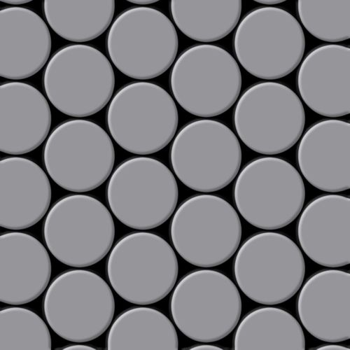 Mosaico metallo solido Acciaio inossidabile opaco grigio spesso 1,6 mm ALLOY Dome-S-S-MA – Bild 1