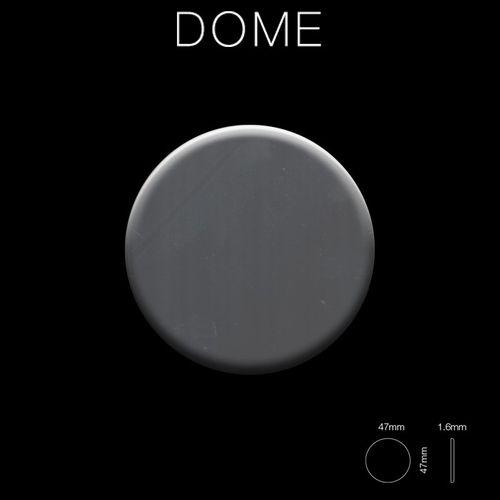 Mosaico metallo solido Acciaio inossidabile Marine specchiato grigio spesso 1,6 mm ALLOY Dome-S-S-MM – Bild 2