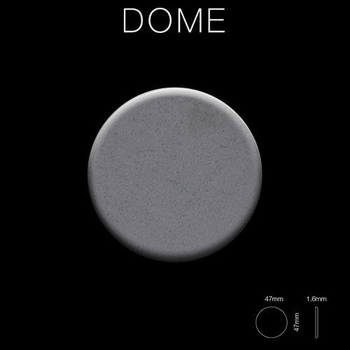 Mosaico metallo solido Acciaio grezzo laminato grigio spesso 1,6 mm ALLOY Dome-RS – Bild 2