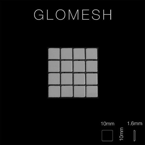 Mosaico metallo solido Acciaio inossidabile Marine specchiato grigio spesso 1,6 mm ALLOY Glomesh-S-S-MM – Bild 2