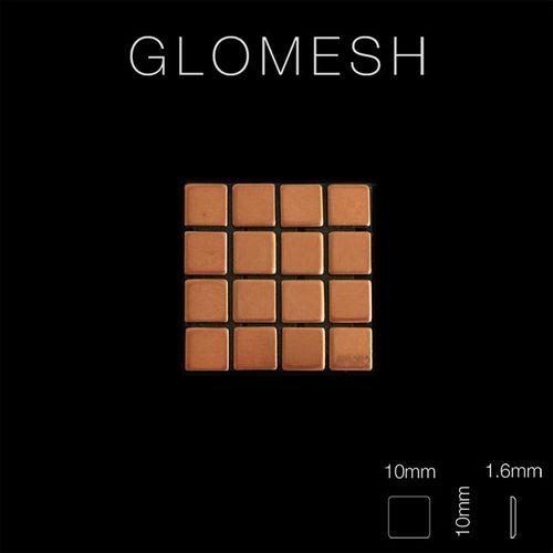 Mosaïque métal massif Carrelage Cuivre laminé cuivre Grosseur 1,6mm ALLOY Glomesh-CM 1,07 m2 – Bild 2