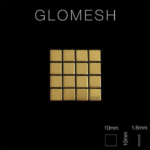 Mosaïque métal massif Carrelage Laiton laminé doré Grosseur 1,6mm ALLOY Glomesh-BM 1,07 m2 – Bild 2
