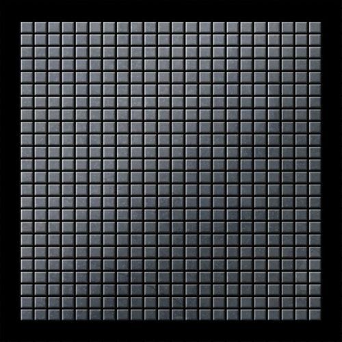Mosaïque métal massif Carrelage Acier brut laminé gris Grosseur 1,6mm ALLOY Glomesh-RS 1,07 m2 – Bild 3
