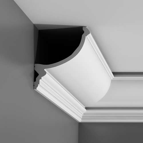 Ceiling coving decoration 2 m Indirect lighting cornice moulding Orac Decor C900 LUXXUS – Bild 5