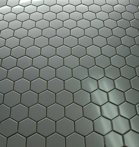 Mosaik Fliese massiv Metall Edelstahl matt in grau 1,6mm stark ALLOY Honey-S-S-MA 0,92 m2 – Bild 5