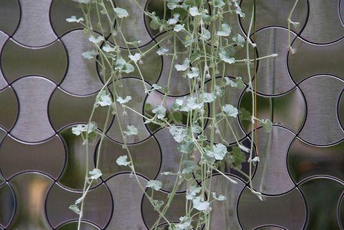 Mosaik Fliese massiv Metall Edelstahl gebürstet in grau 1,6mm stark ALLOY Infinit-S-S-B Designed by Karim Rashid 0,91 m2 – Bild 5