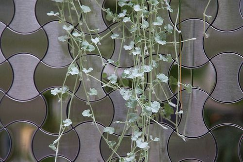 Mosaik Fliese massiv Metall Edelstahl hochglänzend in grau 1,6mm stark ALLOY Infinit-S-S-M Designed by Karim Rashid 0,91 m2 – Bild 7