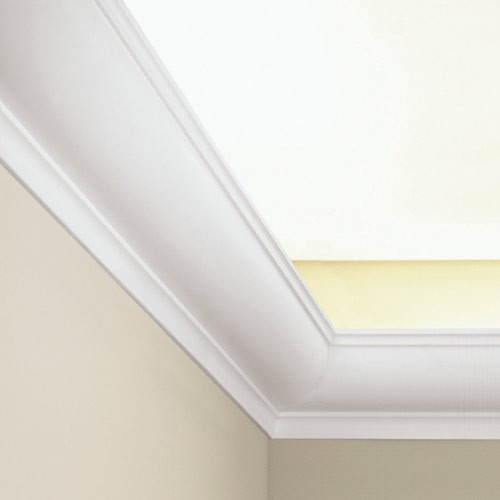 Ceiling coving decoration 2 m Indirect lighting cornice moulding Orac Decor C902 LUXXUS – Bild 2