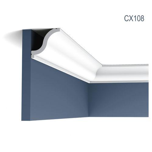 Zierleiste Profilleiste Orac Decor CX108 AXXENT Stuck Profil Eckleiste Wand Leiste Decken Leiste | 2 Meter – Bild 1