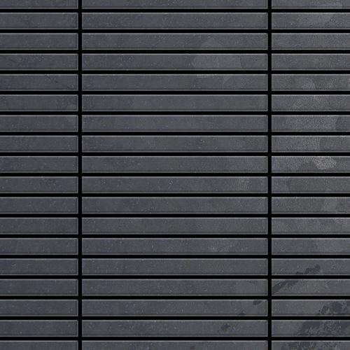 Mozaïektegels massief metaal gewalst ruw staal grijs 1,6 mm dik ALLOY Linear-RS  – Bild 1