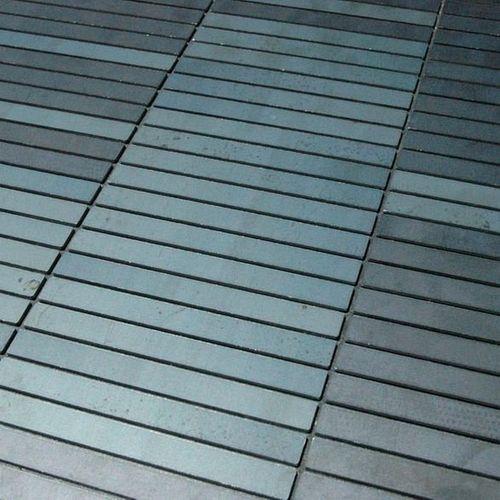Mozaïektegels massief metaal gewalst ruw staal grijs 1,6 mm dik ALLOY Linear-RS  – Bild 4