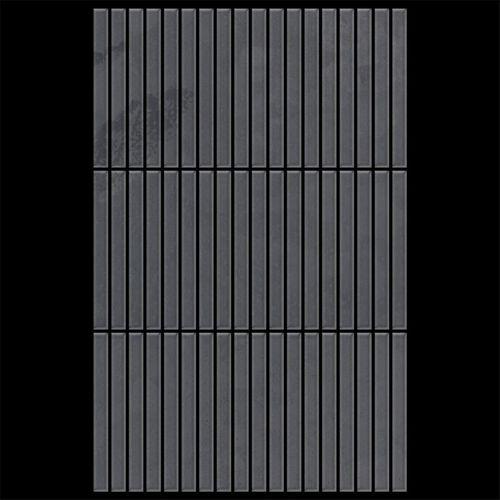 Mosaik Fliese massiv Metall Rohstahl gewalzt in grau 1,6mm stark ALLOY Linear-RS 0,94 m2 – Bild 3