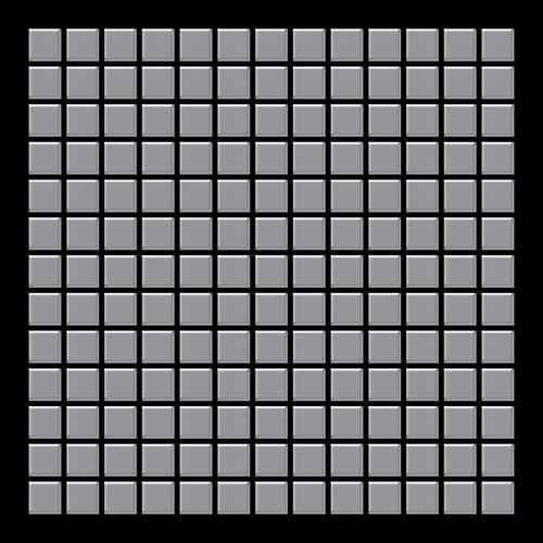 Mosaïque métal massif Carrelage Acier inoxydable matt gris Grosseur 1,6mm ALLOY Mosaic-S-S-MA 1,04 m2 – Bild 3