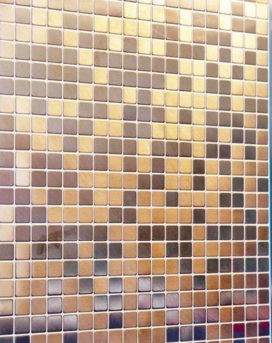 Mosaïque métal massif Carrelage Cuivre laminé cuivre Grosseur 1,6mm ALLOY Mosaic-CM 1,04 m2 – Bild 5
