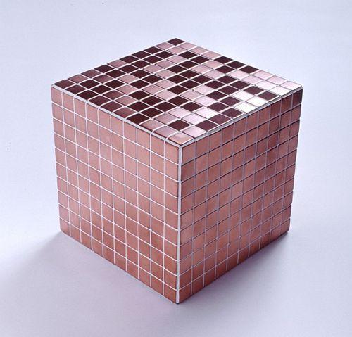 Mosaïque métal massif Carrelage Cuivre laminé cuivre Grosseur 1,6mm ALLOY Mosaic-CM 1,04 m2 – Bild 4