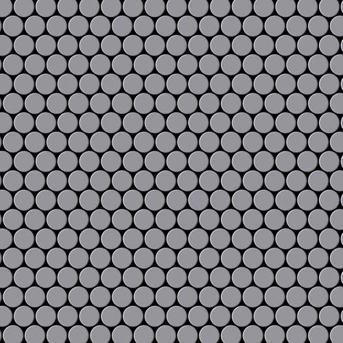 Mosaïque métal massif Carrelage Acier inoxydable matt gris Grosseur 1,6mm ALLOY Penny-S-S-MA 0,92 m2 – Bild 1