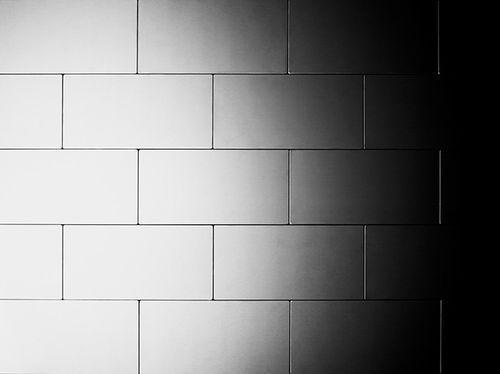 Mosaico metallo solido Acciaio inossidabile opaco grigio spesso 1,6 mm ALLOY Subway-S-S-MA – Bild 5