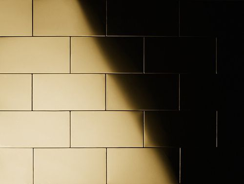 Mosaico metallo solido Titanio specchiato Gold oro spesso 1,6 mm ALLOY Subway-Ti-GM – Bild 5